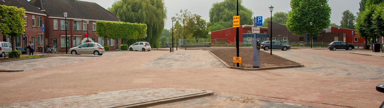 Bestratingsbedrijf - Parkeerplaats Culemborg