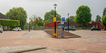 Bestrating - Parkeerplaats Culemborg