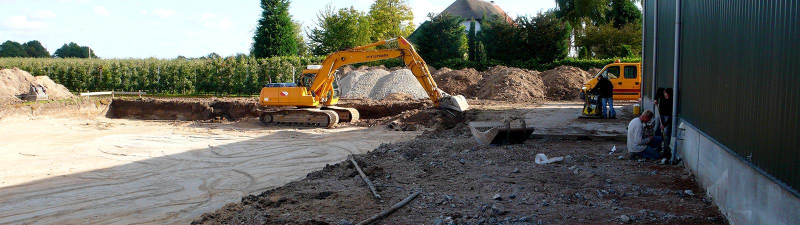 Grondverzetbedrijf - Nieuwbouw Van Haarlem Buurmalsen