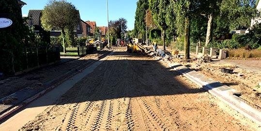 Wegenbouwbedrijf - Groot onderhoud Willem de Zwijgerweg