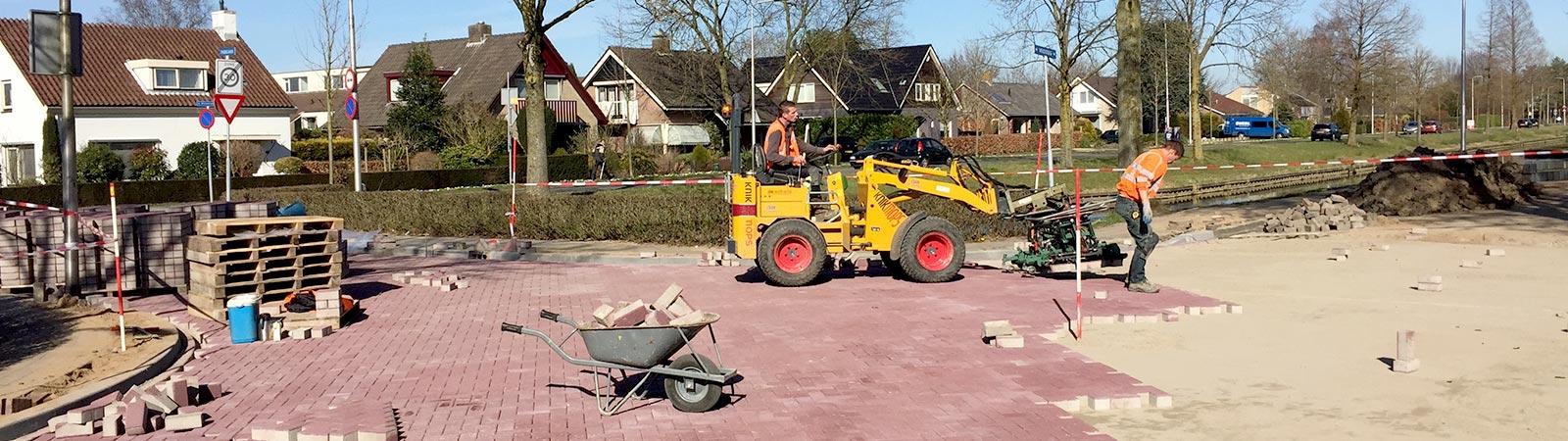 Wegenbouwbedrijf - Parklaan Culemborg