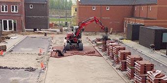 Wegenbouwbedrijf - Woonrijp maken De Plantage te Meteren